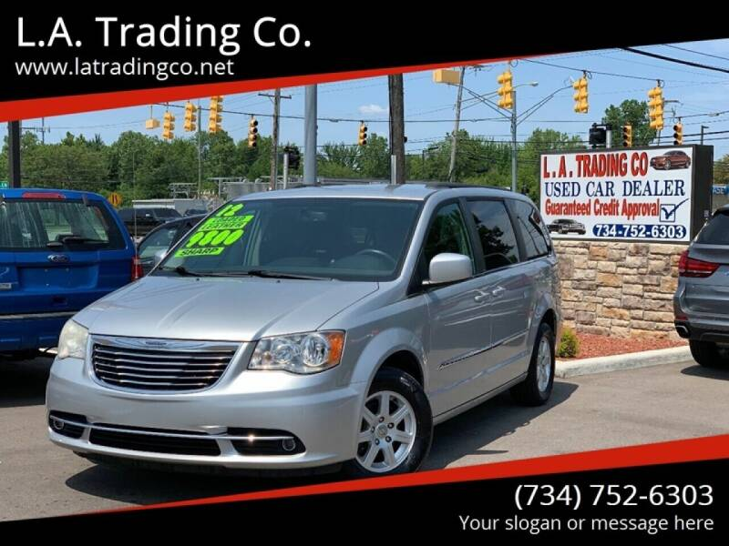 2012 Chrysler Town and Country for sale at L.A. Trading Co. Woodhaven in Woodhaven MI