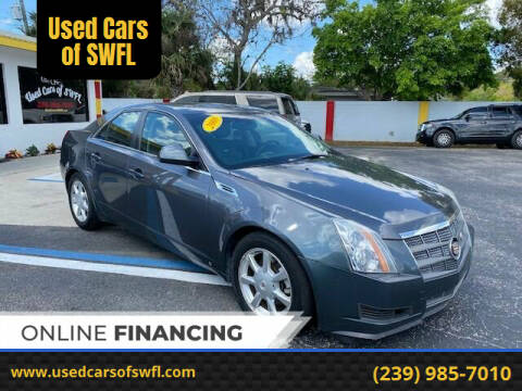 2008 Cadillac CTS for sale at Used Cars of SWFL in Fort Myers FL