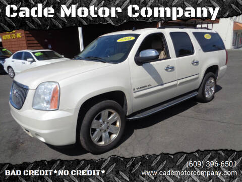 2008 GMC Yukon XL for sale at Cade Motor Company in Lawrenceville NJ