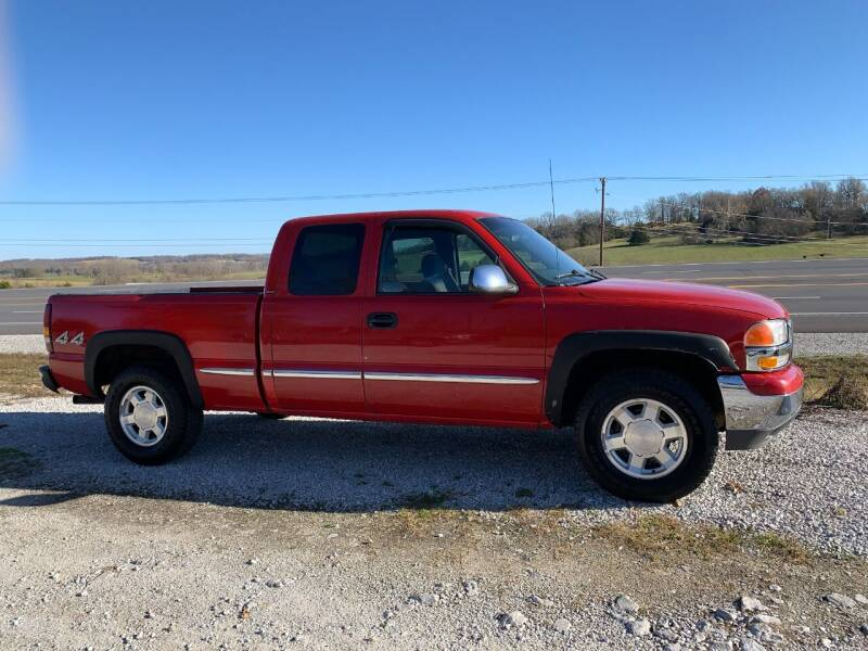 2001 GMC Sierra 1500 for sale at Steve's Auto Sales in Harrison AR