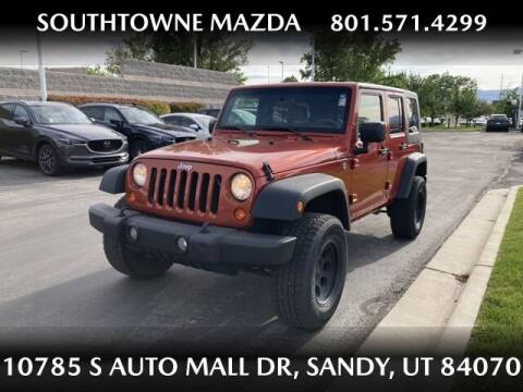 2009 Jeep Wrangler Unlimited for sale at Southtowne Mazda of Sandy in Sandy UT