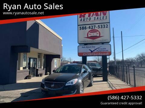 2016 Buick Regal for sale at Ryan Auto Sales in Warren MI
