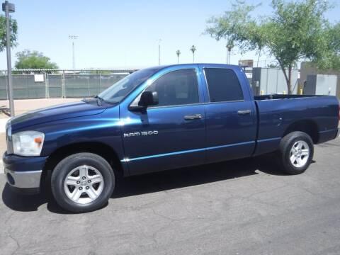 2007 Dodge Ram Pickup 1500 for sale at J & E Auto Sales in Phoenix AZ
