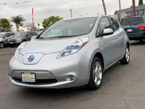 2011 Nissan LEAF for sale at MotorMax in Lemon Grove CA