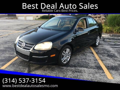 2007 Volkswagen Jetta for sale at Best Deal Auto Sales in Saint Charles MO