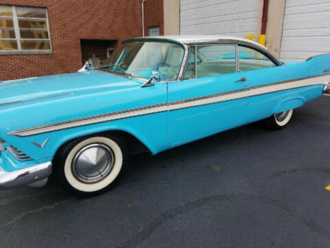 1957 Plymouth Belvedere for sale at Hines Auto Sales in Marlette MI