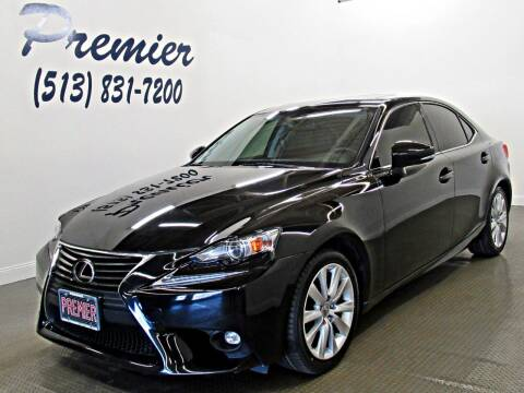 2016 Lexus IS 200t for sale at Premier Automotive Group in Milford OH