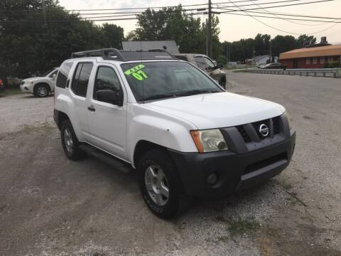 2007 Nissan Xterra for sale at G LONG'S AUTO EXCHANGE in Brazil IN