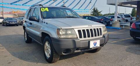 2004 Jeep Grand Cherokee for sale at I-80 Auto Sales in Hazel Crest IL