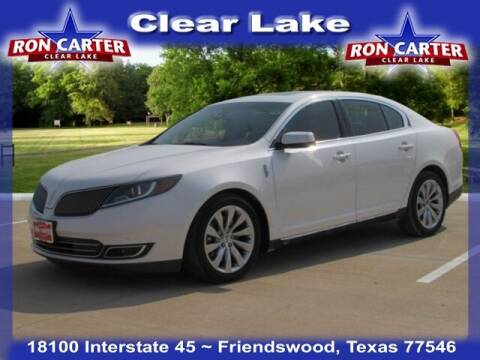 2015 Lincoln MKS for sale at Ron Carter  Clear Lake Used Cars in Houston TX