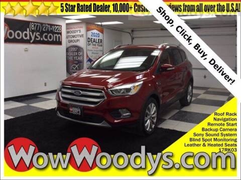 2017 Ford Escape for sale at WOODY'S AUTOMOTIVE GROUP in Chillicothe MO