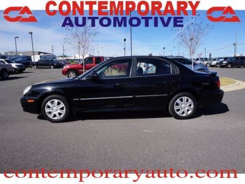 2004 Hyundai Sonata for sale at Contemporary Auto in Tuscaloosa AL