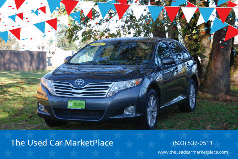 2010 Toyota Venza for sale at The Used Car MarketPlace in Newberg OR