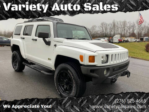 2007 HUMMER H3 for sale at Variety Auto Sales in Abingdon VA