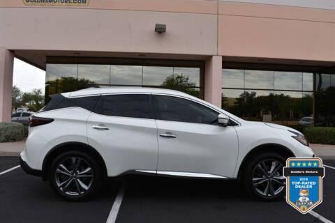 2020 Nissan Murano for sale at GOLDIES MOTORS in Phoenix AZ