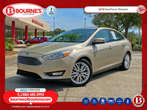 2018 Ford Focus for sale at Bourne's Auto Center in Daytona Beach FL