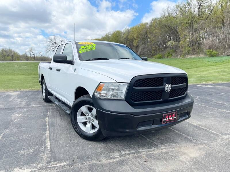 2013 RAM Ram Pickup 1500 for sale at A & S Auto and Truck Sales in Platte City MO