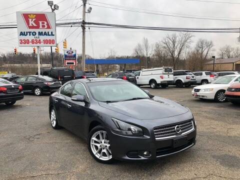 2009 Nissan Maxima for sale at KB Auto Mall LLC in Akron OH
