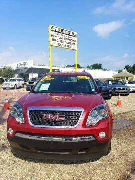 2012 GMC Acadia for sale at CAPITOL AUTO SALES LLC in Baton Rouge LA