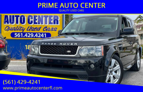 2011 Land Rover Range Rover Sport for sale at PRIME AUTO CENTER in Palm Springs FL