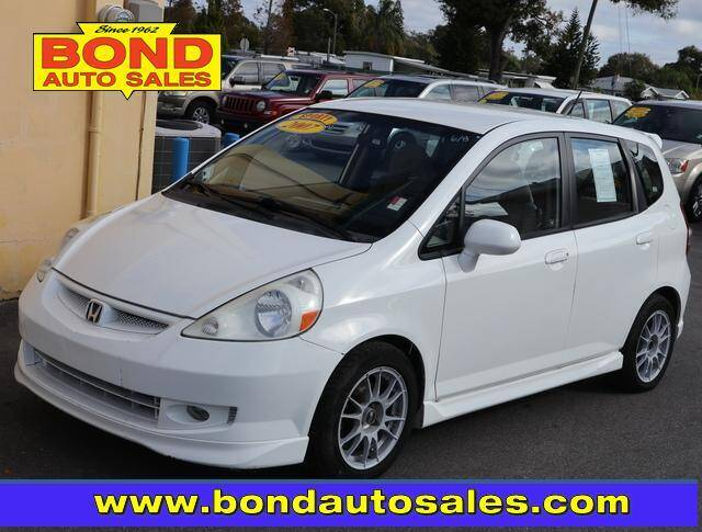 2007 Honda Fit for sale at Bond Auto Sales in St Petersburg FL