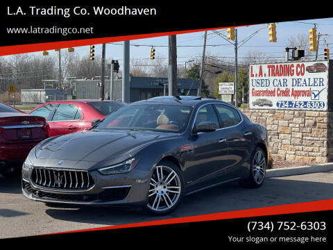 2018 Maserati Ghibli for sale at L.A. Trading Co. Woodhaven in Woodhaven MI