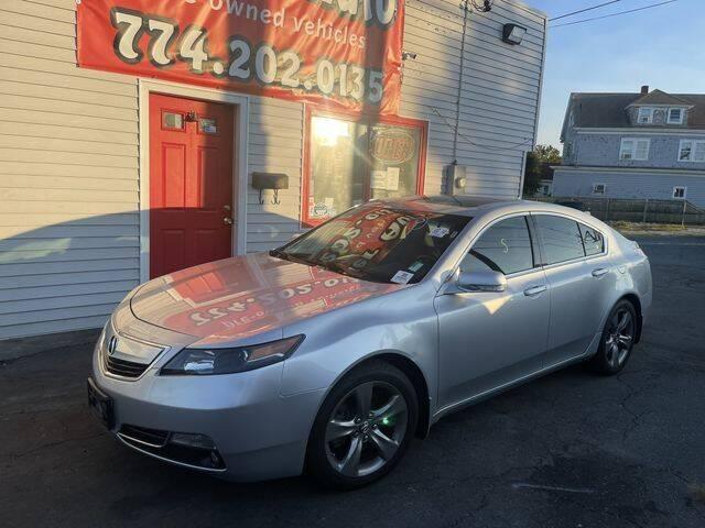 2012 Acura TL for sale at Better Auto in Dartmouth MA