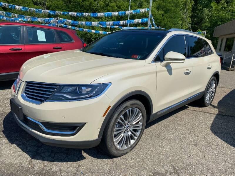 2018 Lincoln MKX for sale at Matt Jones Preowned Auto in Wheeling WV