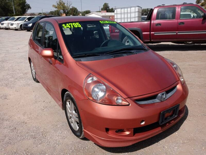 2008 Honda Fit for sale at Canyon View Auto Sales in Cedar City UT