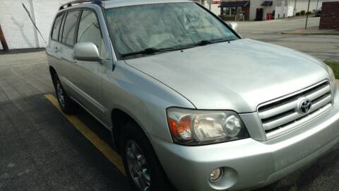 2006 Toyota Highlander for sale at Graft Sales and Service Inc in Scottdale PA