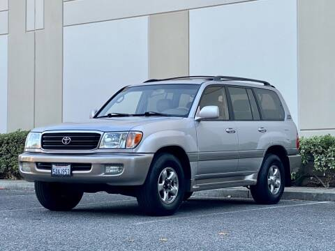 2002 Toyota Land Cruiser for sale at Carfornia in San Jose CA