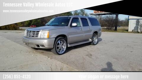 2005 Cadillac Escalade ESV for sale at Tennessee Valley Wholesale Autos LLC in Huntsville AL