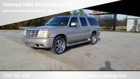 2005 Cadillac Escalade ESV for sale at Tennessee Valley Wholesale Autos LLC in Huntsville AL