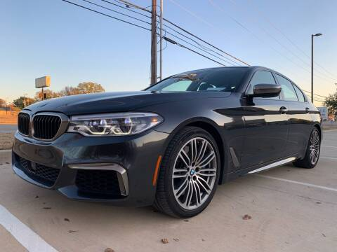 2018 BMW 5 Series for sale at Dream Lane Motors in Euless TX