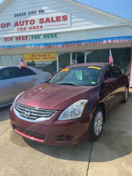 2010 Nissan Altima for sale at Top Auto Sales in Petersburg VA