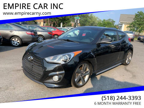 2013 Hyundai Veloster for sale at EMPIRE CAR INC in Troy NY