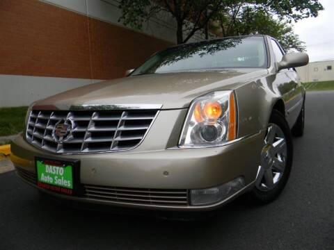 2006 Cadillac DTS for sale at Dasto Auto Sales in Manassas VA