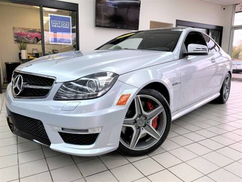 2015 Mercedes-Benz C-Class for sale at SAINT CHARLES MOTORCARS in Saint Charles IL