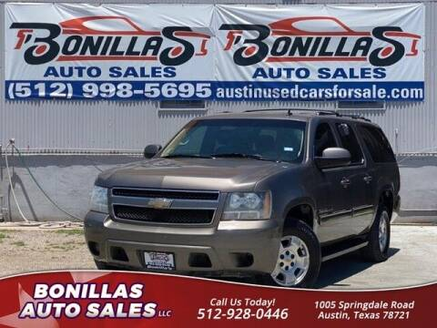 2011 Chevrolet Suburban for sale at Bonillas Auto Sales in Austin TX