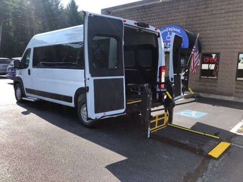2021 RAM ProMaster Window for sale at New England Motor Car Company in Hudson NH