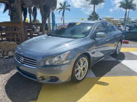 2010 Nissan Maxima for sale at D&S Auto Sales, Inc in Melbourne FL