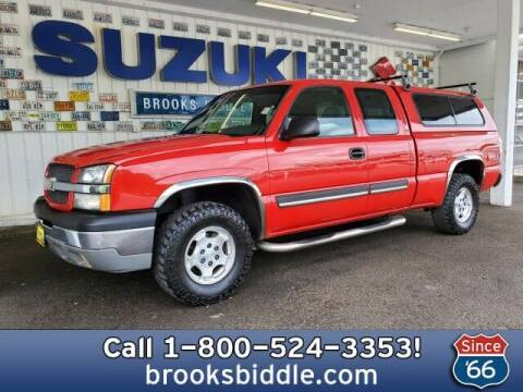 2003 Chevrolet Silverado 1500 for sale at BROOKS BIDDLE AUTOMOTIVE in Bothell WA
