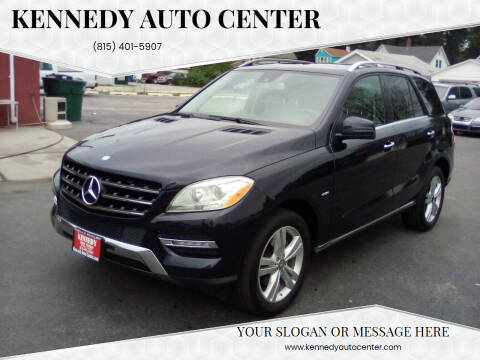 2012 Mercedes-Benz M-Class for sale at KENNEDY AUTO CENTER in Bradley IL