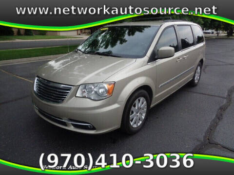 2013 Chrysler Town and Country for sale at Network Auto Source in Loveland CO