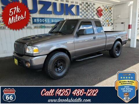 2010 Ford Ranger for sale at BROOKS BIDDLE AUTOMOTIVE in Bothell WA