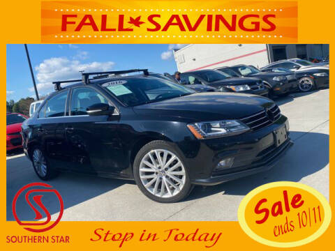 2016 Volkswagen Jetta for sale at Southern Star Automotive, Inc. in Duluth GA