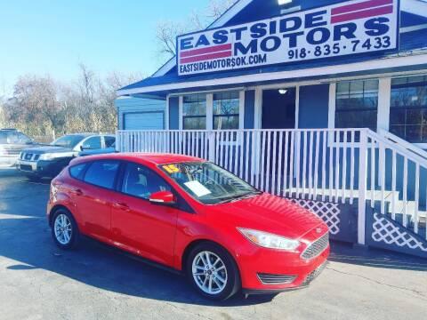 2015 Ford Focus for sale at EASTSIDE MOTORS in Tulsa OK
