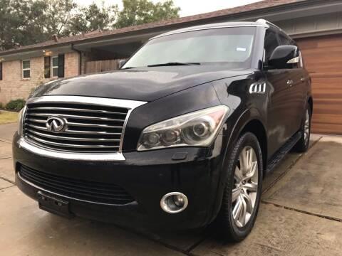 2011 Infiniti QX56 for sale at Texas Luxury Auto in Houston TX