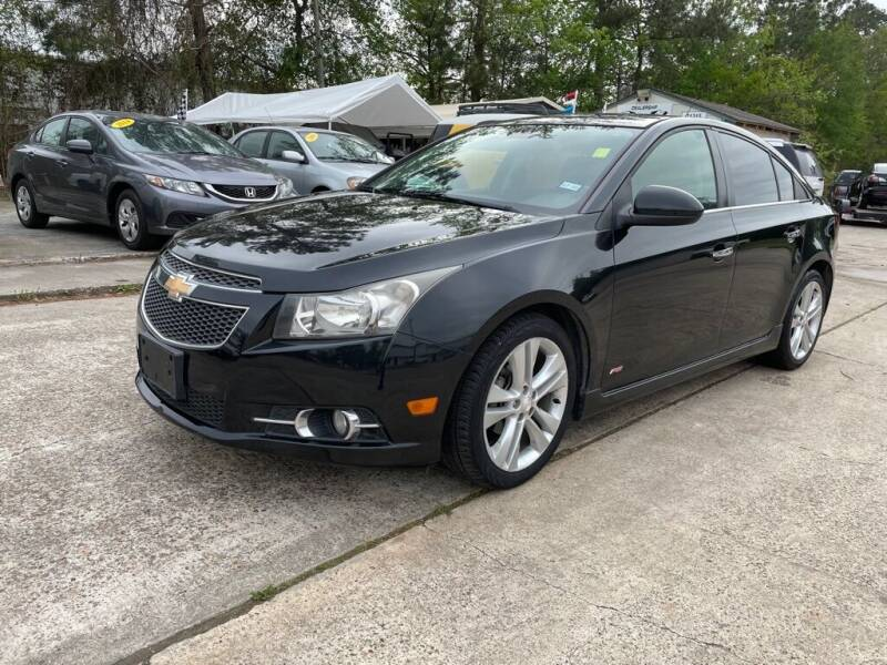 2013 Chevrolet Cruze for sale at AUTO WOODLANDS in Magnolia TX