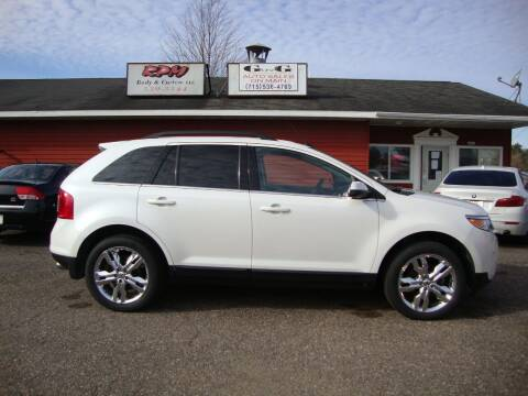 2013 Ford Edge for sale at G and G AUTO SALES in Merrill WI